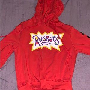 Rugrats cropped hoodie